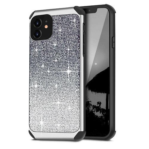 Apple iPhone 11 Hybrid Shiny Glitter Shockproof Case