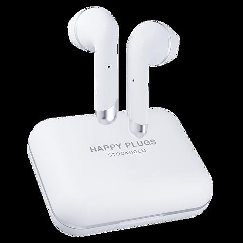 Happy Plugs - Air 1 Plus Earbud Headphones - White