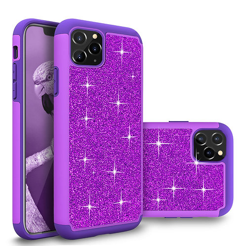 Apple iPhone 12 Pro Max (6.7 inch) (2020) Glitter Shockproof Bumper Case