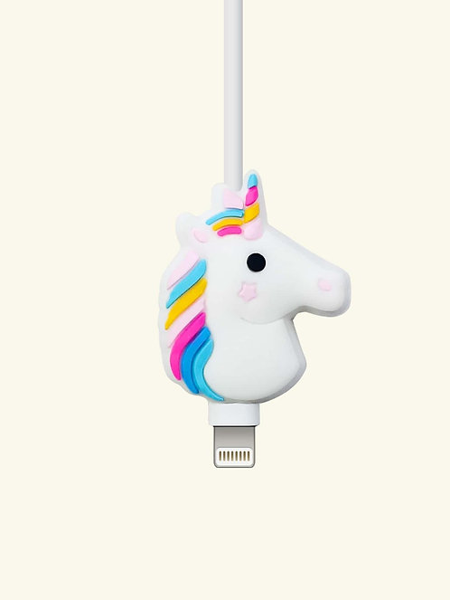 Unicorn Shaped Phone Cable Protector