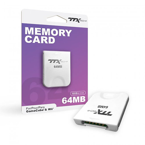 Game Cube/Wii - Memory Card 64MB (TTX Tech)