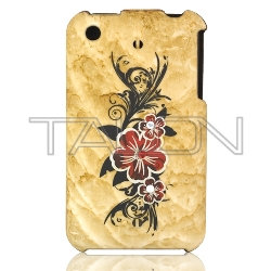 Talon Yellow Diamond FloweriPhone 3G Case