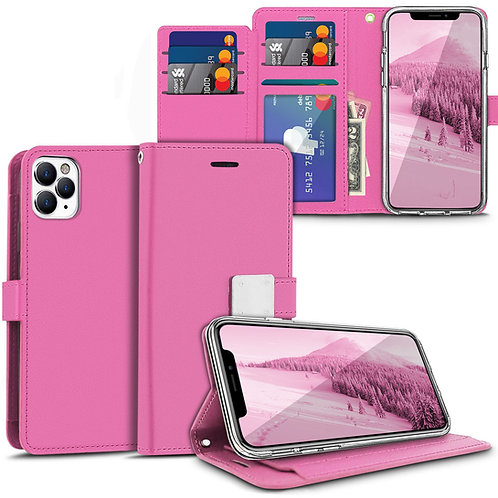 Apple iPhone 11 Pro Diary Style Pu Leather Wallet Flip Stand Case