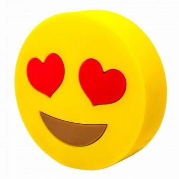 Heart Eyes Emoji 4000mAh Powerbank with Charging Cable