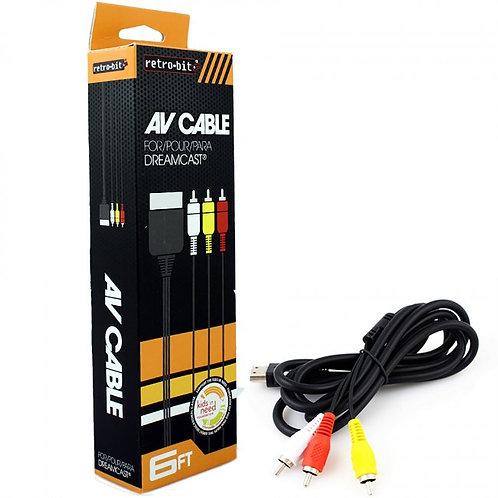 Dreamcast AV Cable