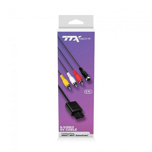 Game Cube - Cable - S-Video & AV (TTX Tech)