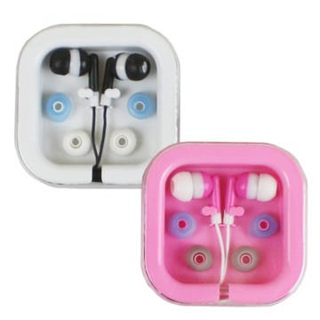 Stereo Earbuds with 2 Extra Covers
