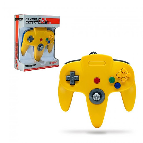 Wired Controller for N64 - Blue/Yellow