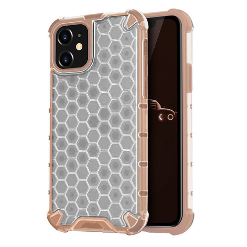 Apple iPhone 11 Honeycomb Slim Dual Layer Protective Case
