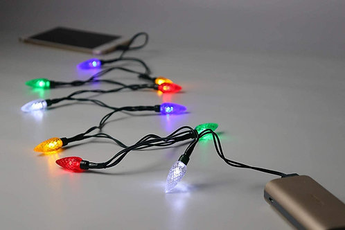 LED Christmas Lights Type-C Charging Cable