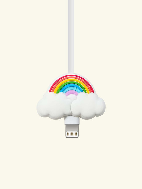 Rainbow Shaped Phone Cable Protector