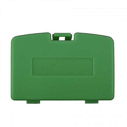 Game Boy Color - Repair Part - Battery Door Cover - Green Kiwi (TTX Tech)