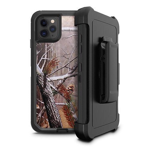 Apple iPhone 11 Pro Heavy Duty TPU PC Holster Belt Clip Case