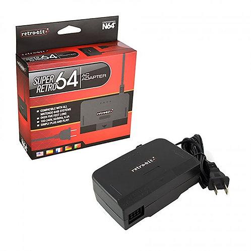 N64 - Adapter - AC Power (Retro-Bit)