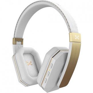 Ghostek SoDrop 2 Handsfree Bluetooth Headphones - White/Gold