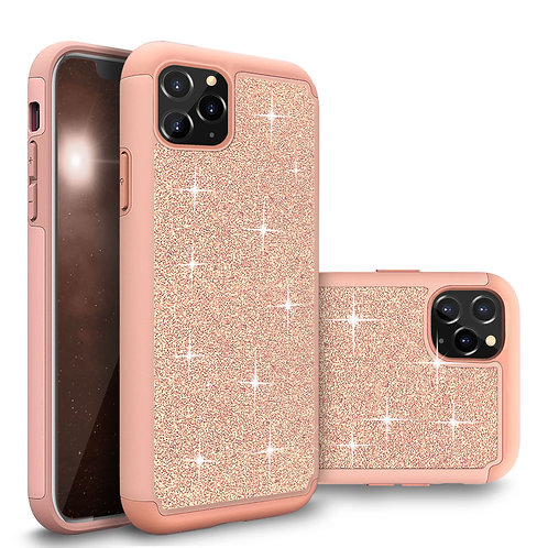 Apple iPhone 11 Pro Glitter Shockproof Bumper Case