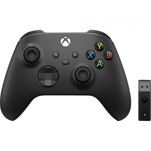 Xbox Series X Wireless Controller + Adapter for Windows 10