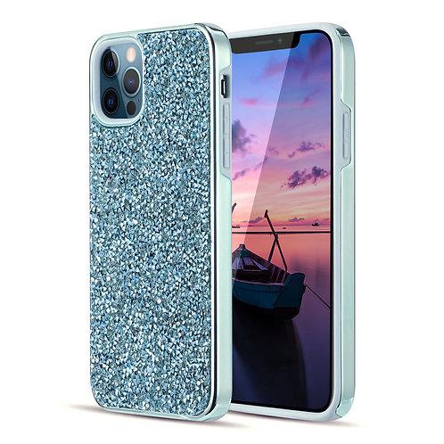 Apple iPhone 12 / iPhone 12 Pro (6.1 inch) Hybrid Shiny Diamond Protective Case