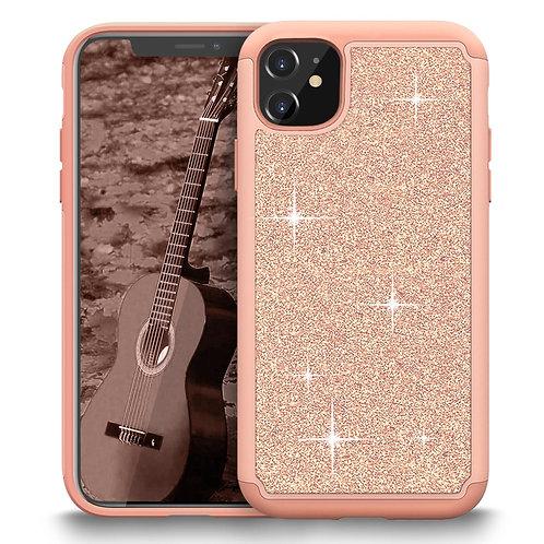 Apple iPhone 12 Mini (5.4 inch) (2020) Glitter Shockproof Bumper Case