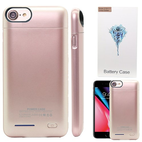 3000mAh Power Bank Charger Case for iPhone 8