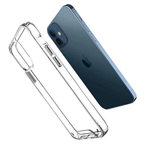 Apple iPhone 12 Mini (5.4 inch) Space Crystal Clear Slim Hybrid Case