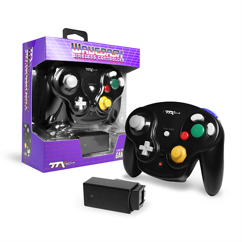 Game Cube Controller - Wired - Black (For Gamecube/Wii U/Wii)