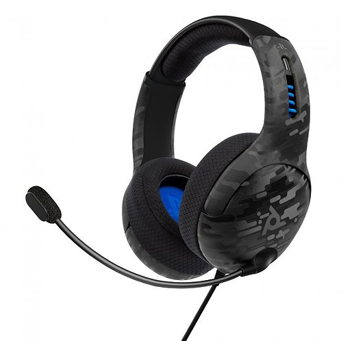 PS5/PS4 LVL50 Stereo Wired Headset - Black Camo