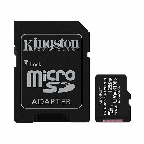 Kingston Canvas Select Plus MicroSD 128Gb