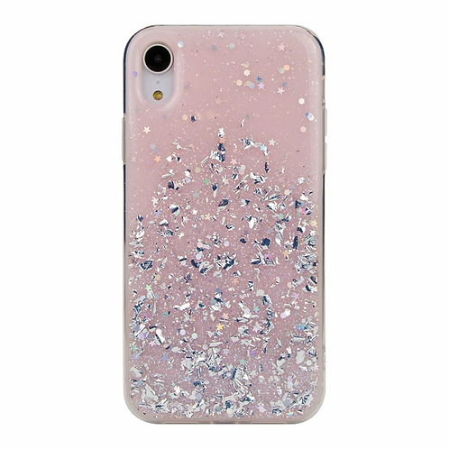 Wild Flag Design Case For iPhone X/XS - Pink/Iridescent
