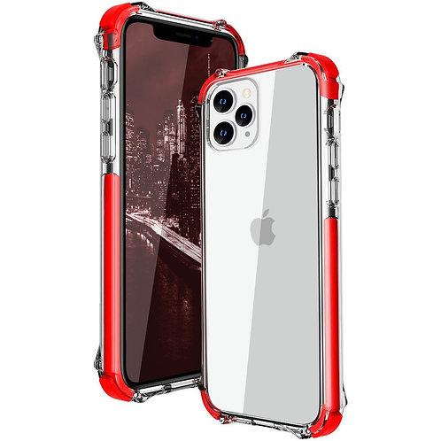 Apple iPhone 11 Pro Max Hard Elastic Bumper Clear Case