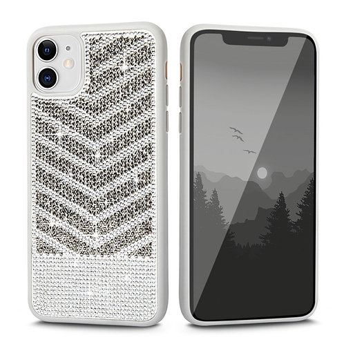 Apple iPhone 11 Luxury Diamond Glitter PC + Soft TPU Shockproof Bumper Case