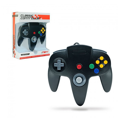 Wired Controller for N64 - Black