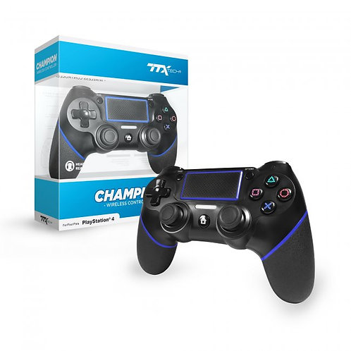 CHAMPION Wireless Controller for PS4 (Black)