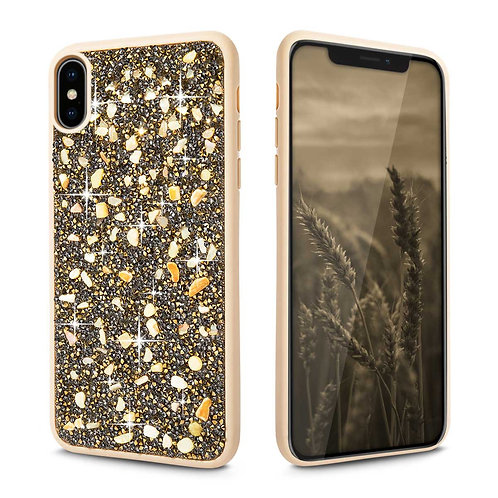 Apple iPhone XS Max Luxury Rhinestone Diamond Jewelled PC + TPU Case