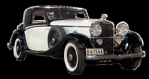 Antique Rare Hispano-Suiza automobile