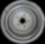 Refurbished brake drum for Mercedes-Benz