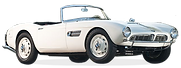 Classic BMW 507 Roadster