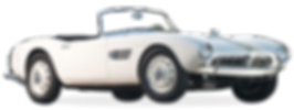 Classic vintage BMW 507 Roadster