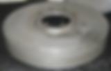 Refurbished brake drum for rare antique Hispano-Suiza