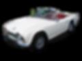 Vintage Triumph TR model sports car