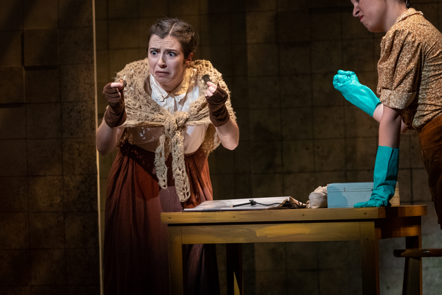 Josephine Strong in URINETOWN - Shenandoah Conservatory