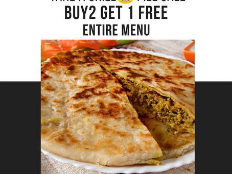 Buy 2 Get 1 Free or 33% off