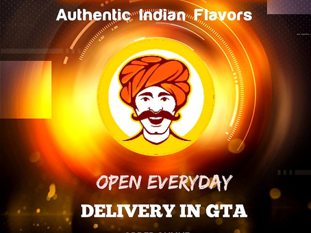 Delivery in parts of GTA. Minimum order applies