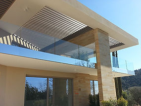 EMS industrie - Ballustrade villa de luxe