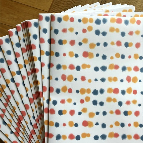 Spotty Wrapping Paper