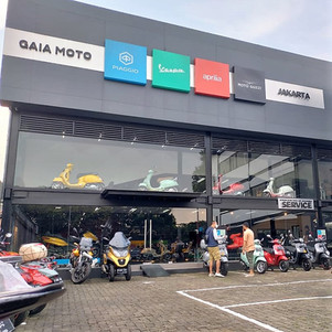 Berkunjung Ke Gaia Moto Jakarta, Dealer Motoplex Piaggio Indonesia