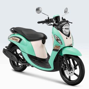 Giliran Yamaha Fino 125 Sporty Tampil Dengan Warna Baru yang Cheerful