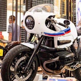 Selain CB Gibran Rakabuming, BMW 1150 Cafe Racer Ini Jadi Masterpiece RRRG
