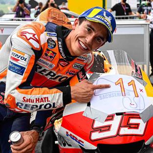 Marc Marquez Ungkap Kunci Penting di Balik Kemenangan Fenomenalnya di GP Sahsenring 2021