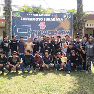 Perayaan 9th Anniversary KRACKER (Kawasaki D-Tracker) Surabaya